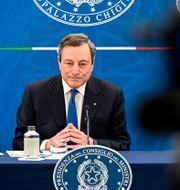 Mario Draghi. Riccardo Antimiani / TT NYHETSBYRÅN