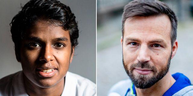 Loui Sand och Henrik Signell.  TT