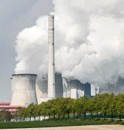 Tyskt koleldat kraftverk. Martin Meissner / TT NYHETSBYRÅN