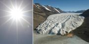Antarktis istäcke är det näst tunnaste som uppmätts en marsmånad. Arkivbild. TT