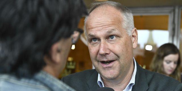 Vänsterpartiets ledare Jonas Sjöstedt. Arkivbild. Claudio Bresciani/TT / TT NYHETSBYRÅN