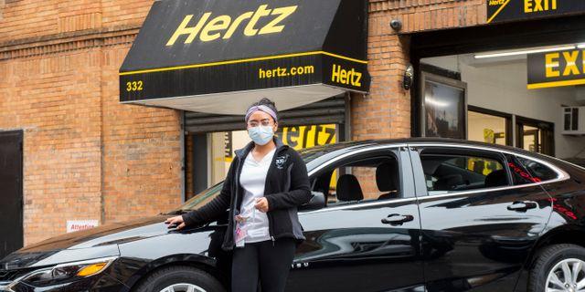 Hertz. Diane Bondareff / TT NYHETSBYRÅN