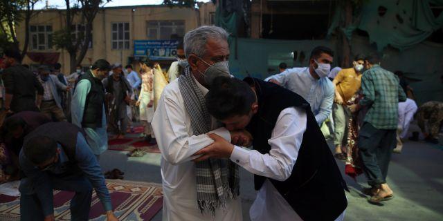 Eid-firande i Afghanistan.  Rahmat Gul / TT NYHETSBYRÅN
