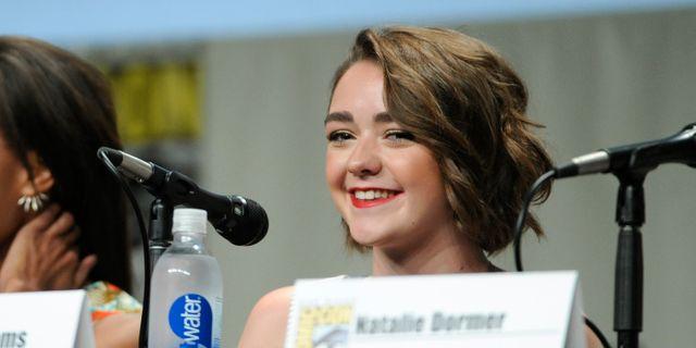 Maisie Williams på Comic-Con. Chris Pizzello / TT NYHETSBYRÅN