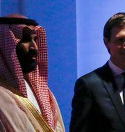 Mohammed bin Salman och Jared Kushner JONATHAN ERNST / TT NYHETSBYRÅN