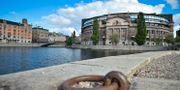 Riksdagshuset i Stockholm. Arkivbild. Stina Stjernkvist/TT / TT NYHETSBYRÅN