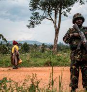 MONUSCO-soldat.  JOHN WESSELS / AFP