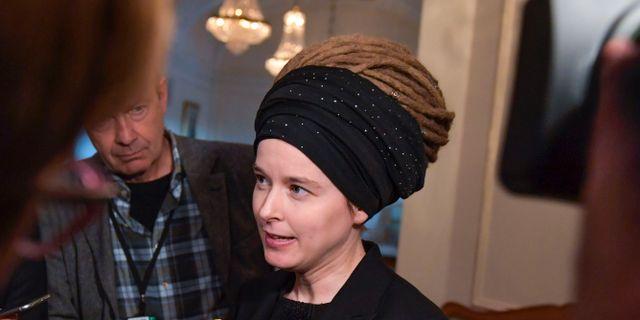 Amanda Lind (MP) Anders Wiklund/TT / TT NYHETSBYRÅN