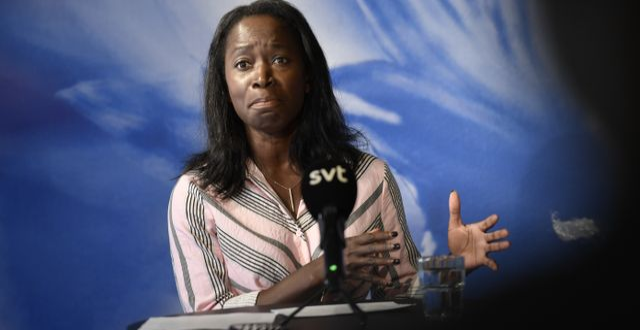 Nyamko Sabuni. Stina Stjernkvist/ TT / TT NYHETSBYRÅN