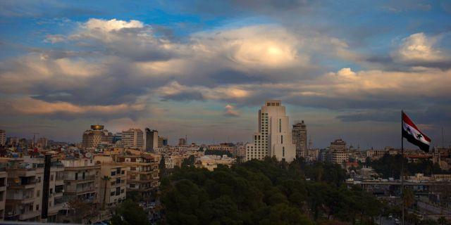 Damaskus, Syriens huvudstad. Hassan Ammar / TT NYHETSBYRÅN