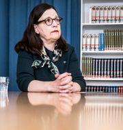 Anna Ekström. Magnus Hjalmarson Neideman/SvD/TT / TT NYHETSBYRÅN