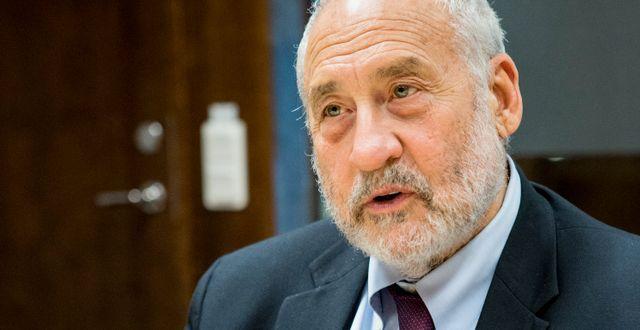 Joseph Stiglitz Christine Olsson/TT / TT NYHETSBYRÅN