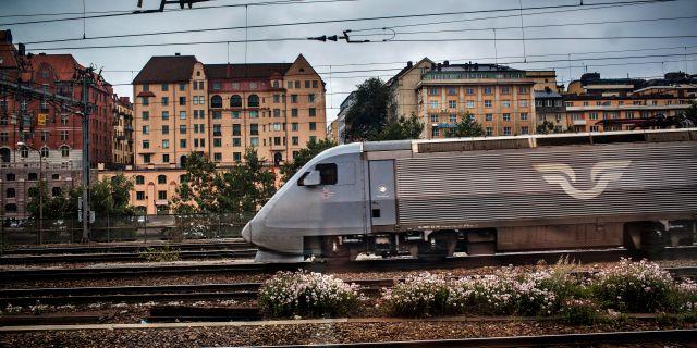 SJ-tåg. Arkivbild. Tor Johnsson / SvD / TT / TT NYHETSBYRÅN