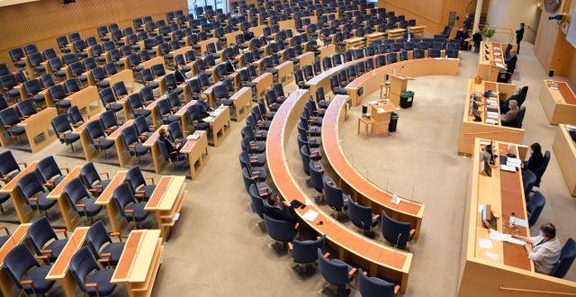 Sveriges riksdag. Henrik Montgomery/TT / TT NYHETSBYRÅN