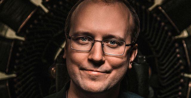 Jonas Grafström, miljöforskare på Ratio. Fotograf Peter Cederling