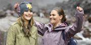 Prinsessan Sofia och kronprinsessan Victoria.  Jessica Gow/TT / TT NYHETSBYRÅN