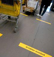 Småländska Åseda tillverkar produkter som ska spridas till Ikeavaruhus i hela världen. Janerik Henriksson/TT / TT NEWS AGENCY