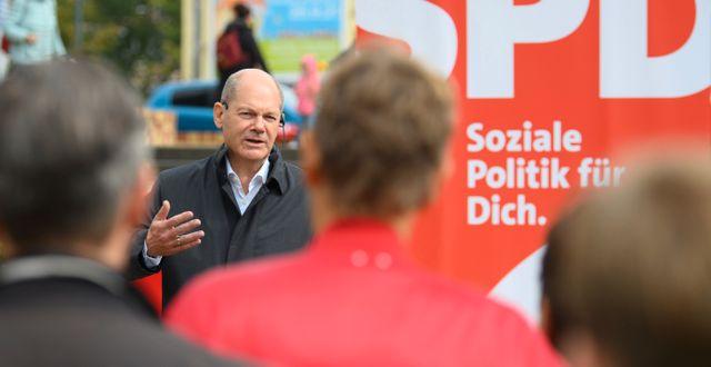 Olaf Scholz i Potsdam,  Soeren Stache / TT NYHETSBYRÅN