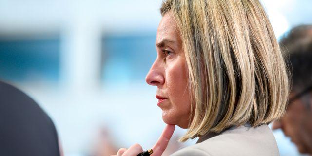 Federica Mogherini, arkivbild. Fabrice Coffrini / TT NYHETSBYRÅN/ NTB Scanpix