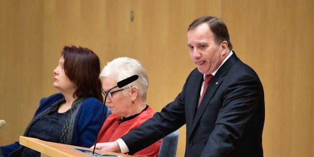 Stefan Löfven  Janerik Henriksson/TT / TT NYHETSBYRÅN