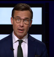 M-ledaren Ulf Kristersson.  SVT
