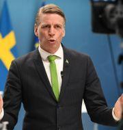 Per Bolund. Fredrik Sandberg/TT / TT NYHETSBYRÅN