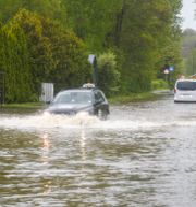 Översvämning i Stockholm i maj. MARKO SÄÄVÄLÄ/TT / TT NYHETSBYRÅN