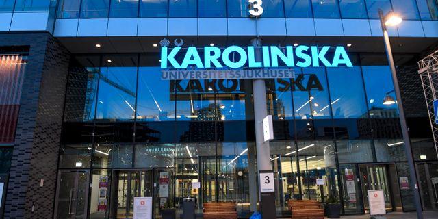 Karolinska universitetssh Fredrik Sandberg/TT / TT NYHETSBYRÅN