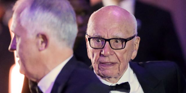 Arkivbild: Rupert Murdoch.   Pablo Martinez Monsivais / TT / NTB Scanpix
