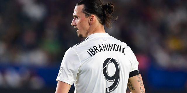 Zlatan Ibrahimovic. FREDERIC J. BROWN / AFP