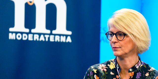 Elisabeth Svantesson. Hanna Franzén/TT / TT NYHETSBYRÅN