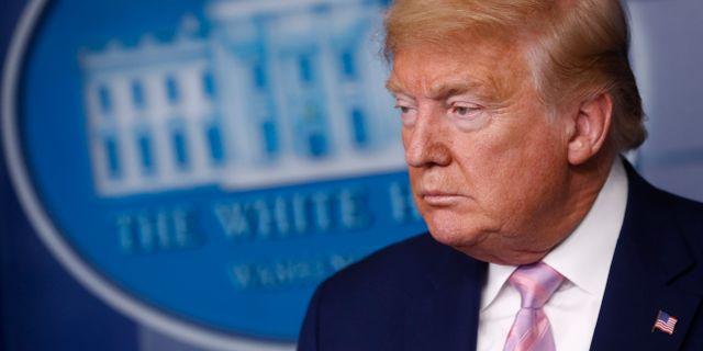 Donald Trump. Patrick Semansky / TT NYHETSBYRÅN
