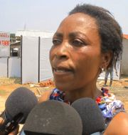 Semida Masika, den sista ebolapatienten. STRINGER / TT NYHETSBYRÅN