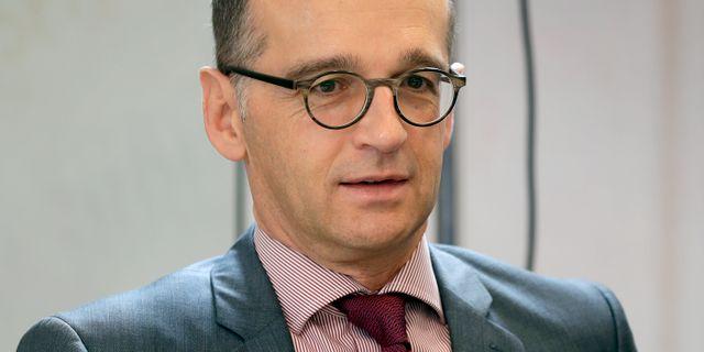 Heiko Maas Michael Sohn / TT NYHETSBYRÅN