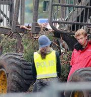Demonstrationer i Ojnareskogen. Arkiv Greenpeace / Tillman / TT NYHETSBYRÅN