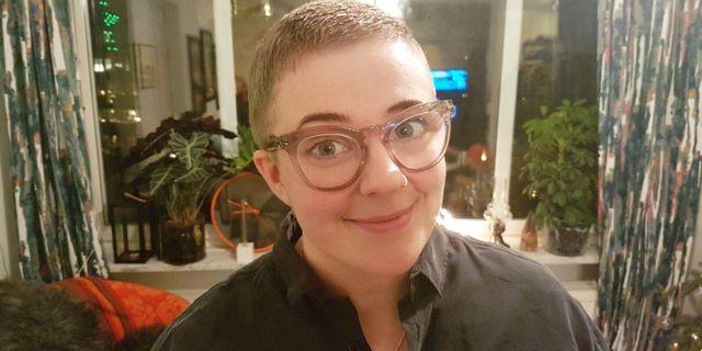 Frida Persson fick sin identitet stulen.  Frida Persson / TT NYHETSBYRÅN