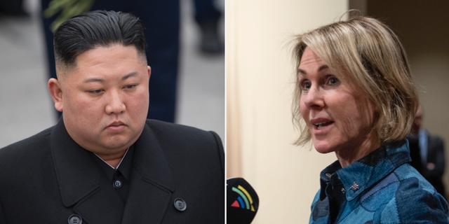 Kim Jong-Un och Kelly Craft TT