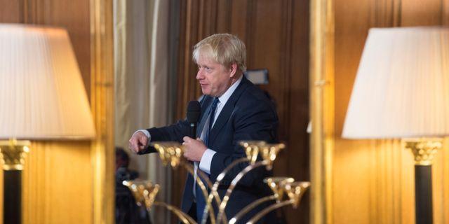 Boris Johnson POOL / TT NYHETSBYRÅN