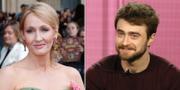 JK Rowling och Daniel Radcliffe TT