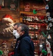 Julskyltning i Rom. Gregorio Borgia / TT NYHETSBYRÅN