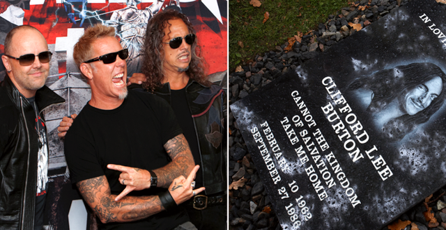 Delar av Metallica/Minnesstenen TT