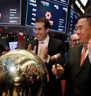 Illustrationsbild: Kinesiska One Connect noterades på New York-börsen på fredagen.  Richard Drew / TT NYHETSBYRÅN