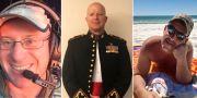Ian H. McBeth, Paul Clyde Hudson och Rick A. DeMorgan Jr dog i olyckan. Coulson Aviation / TT NYHETSBYRÅN