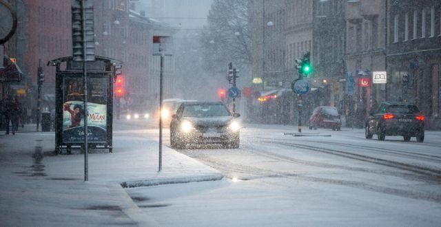 Stockholm lättar inte på gasen. Christine Olsson/TT / TT NYHETSBYRÅN