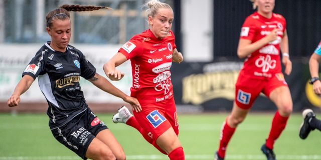 Julia Zigiotti Olme är en av spelarna som Göteborgs FC får ersättning för.  Björn Larsson Rosvall/TT / TT NYHETSBYRÅN