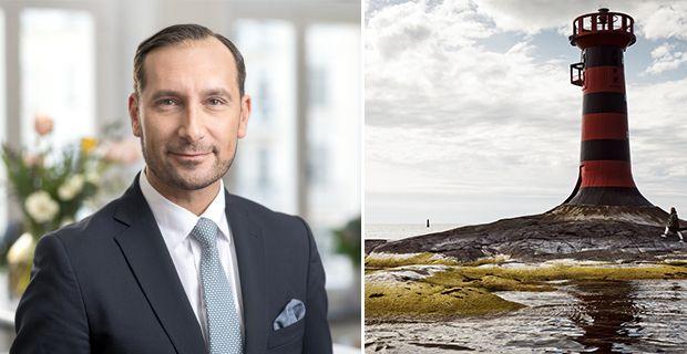Mo Paule, senior finansiell planerare på Ålandsbanken.