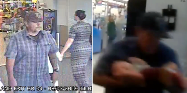 Polisen i El Paso gick ut med bild på mannen
