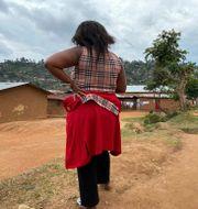 Shekinah – en av kvinnorna som trätt fram med anklagelser mot en WHO-anställd. Kudra Maliro / TT NYHETSBYRÅN