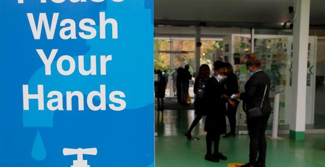 En skola i London. Arkivbild. Kirsty Wigglesworth / TT NYHETSBYRÅN