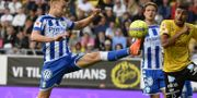 IFK:s Sebastian Olsson.  Björn Larsson Rosvall/TT / TT NYHETSBYRÅN